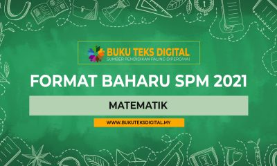 Format baharu matematik Spm 2021 Matematik