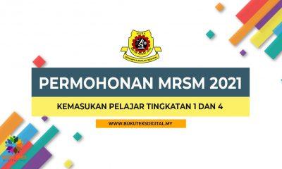 Permohonan Mrsm Kemasukan Tingkatan 1 Dan 4 2021